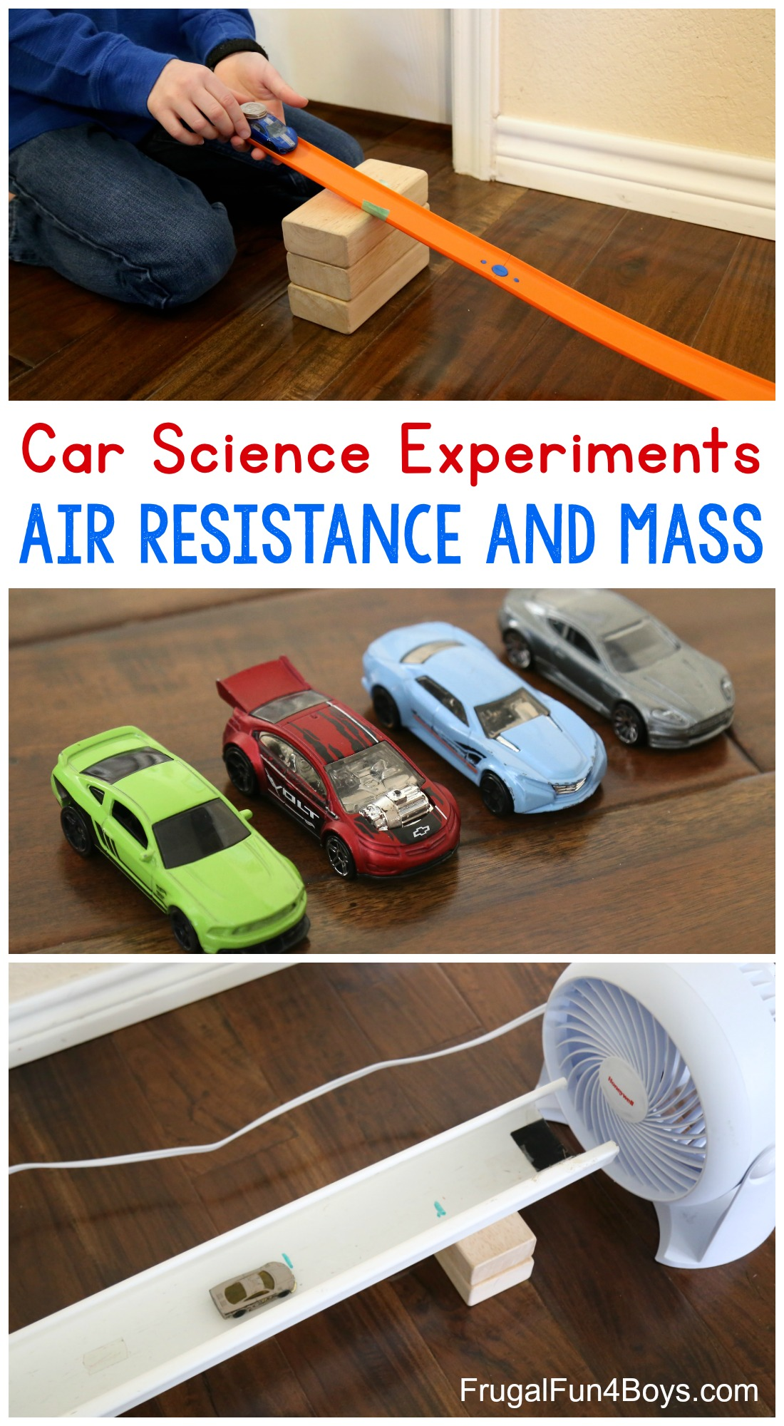 Awesome Science Experiments With Hot Wheels Cars