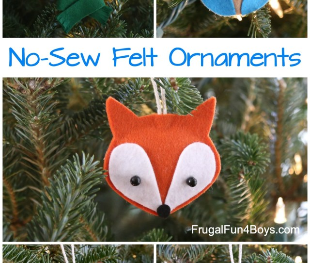 There Are  Animal Ornaments To Make A Bunny A Bear An Owl A Robin And A Fox Its So Hard To Choose A Favorite
