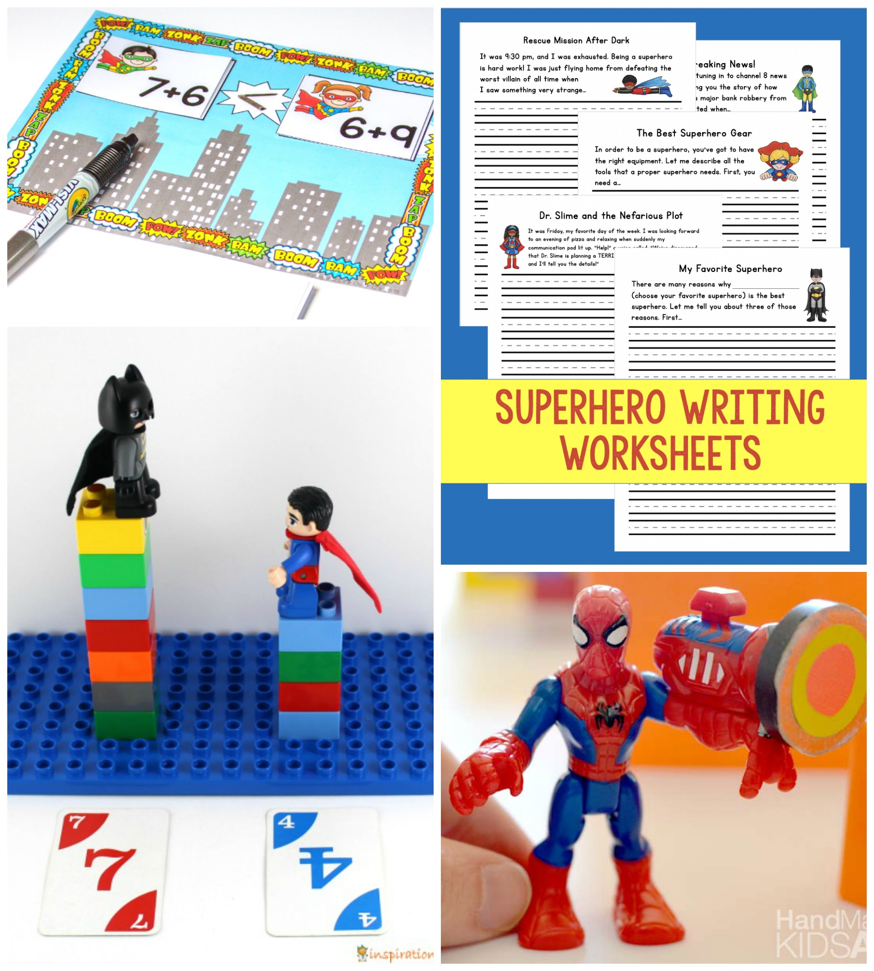 Superhero Week Crafts Activities And Learning
