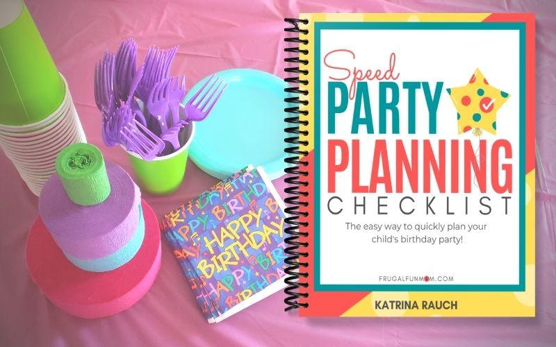Kids Birthday Party Planning Kit | Frugal Fun Mom