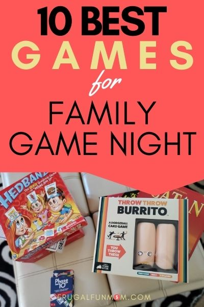 Family Game Night - 10 Best Games You Need To Get | Frugal Fun Mom