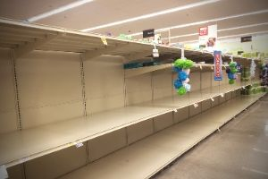 Empty Grocery Store Shelves   Frugal Fun Mom