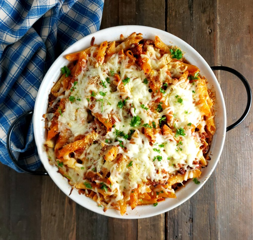 Baked Ziti or Penne Pasta