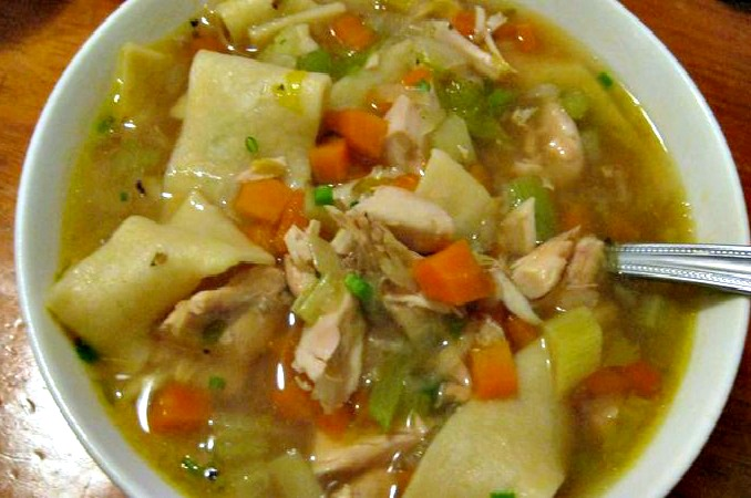 Chicken Noodle Soup - one of my first ever food photos - 2011