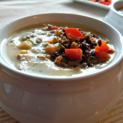 Wild Rice & Smoked Turkey Chowder