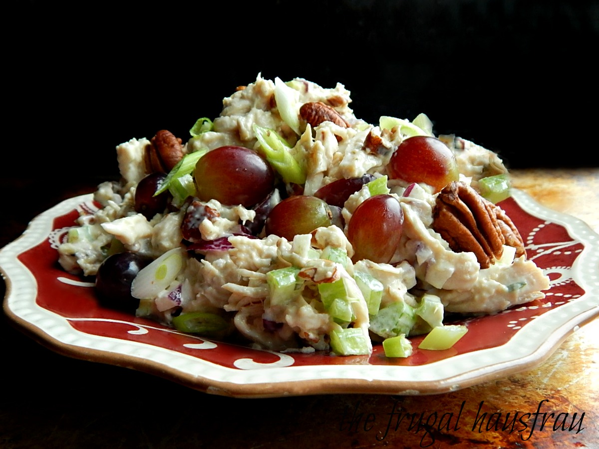 Chicken Salad Grapes Pecans