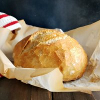 Crusty Bread Easy Overnight No Knead