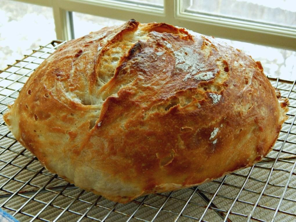 Crusty Bread Easy Overnight