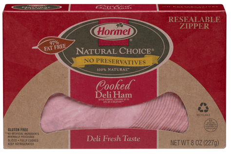 """Hormel lunch meat - on a price """"roll back"""" Walmart, $5.00 a pound, $2.50 for 8 ounces"""