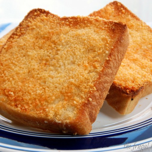 Parmesan Bread Garlic Toast