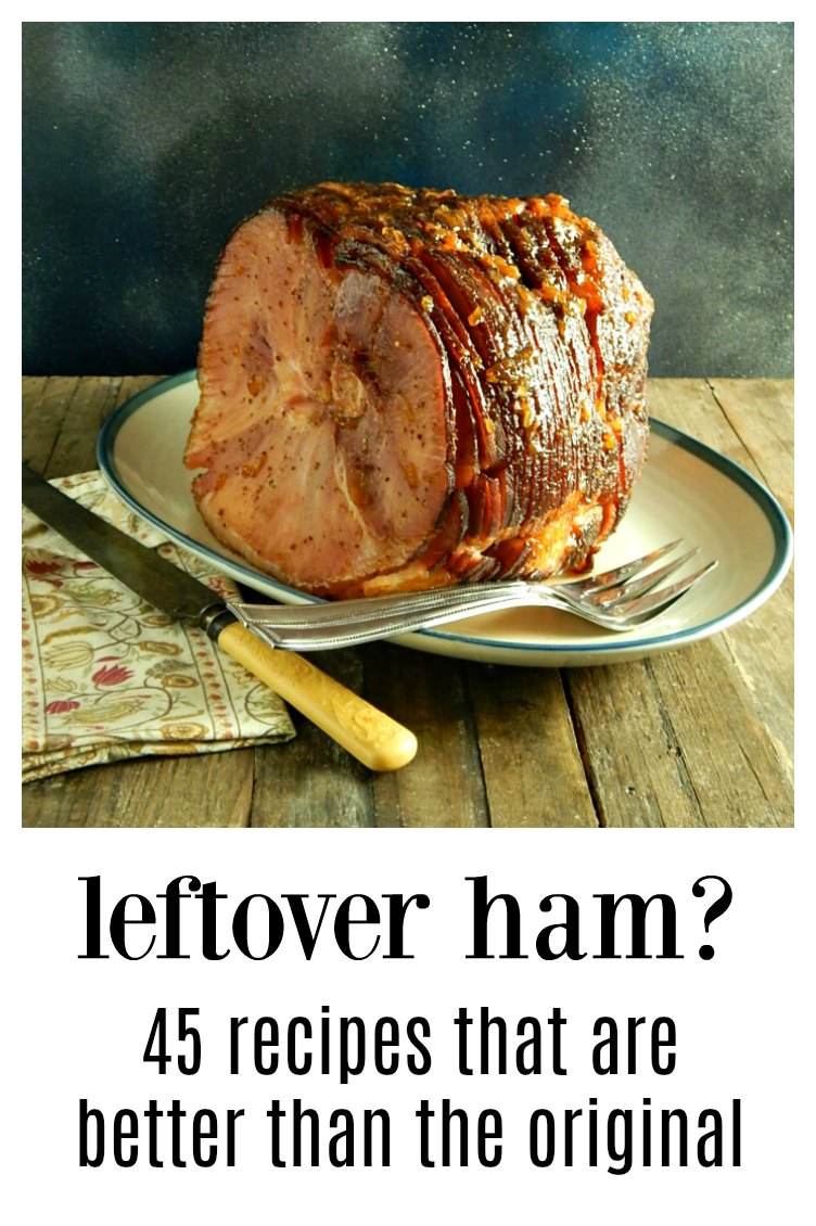 12 Days of Ham - Leftover Ham Recipes. 45 ways to maximize & refashion that leftover ham, each better than the original ham! Because we all need a little inspiration now and then! #LeftoverHam #HamRecipes #RecipesLeftoverHam