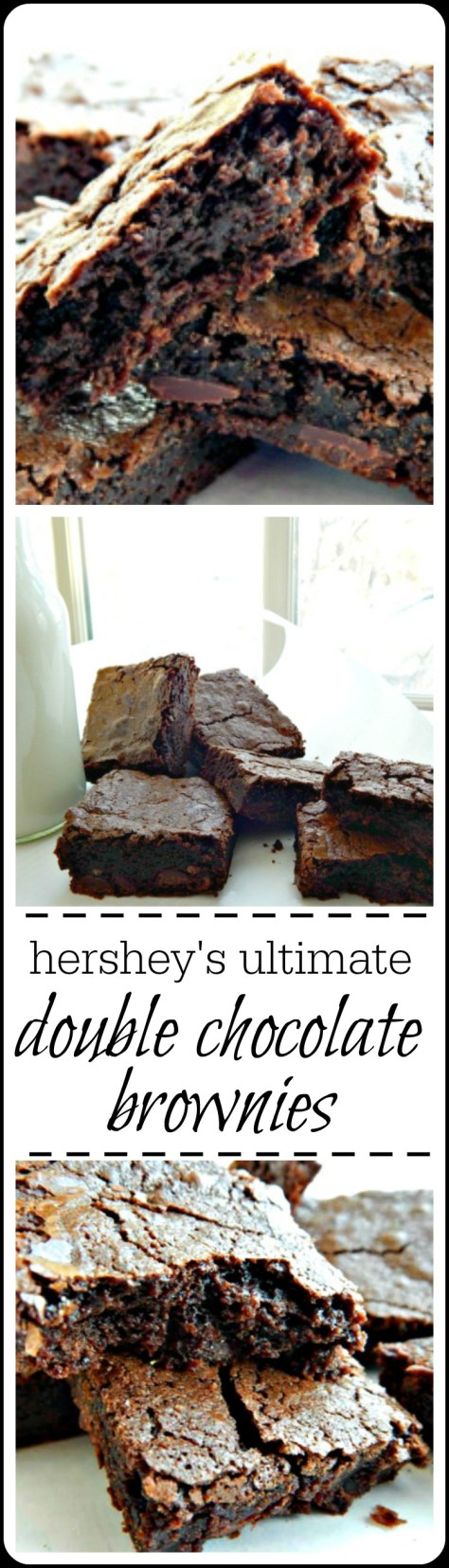 I hardly ever make another brownie recipe. Oh, I think about it, but these are just too good!