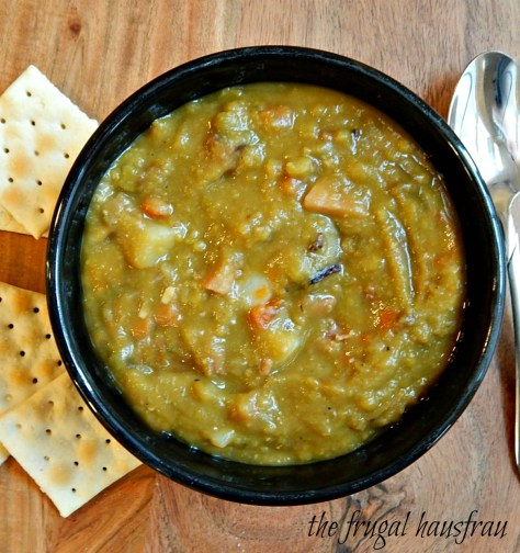 Split Pea Soup, adapted from Cook's Illustrated