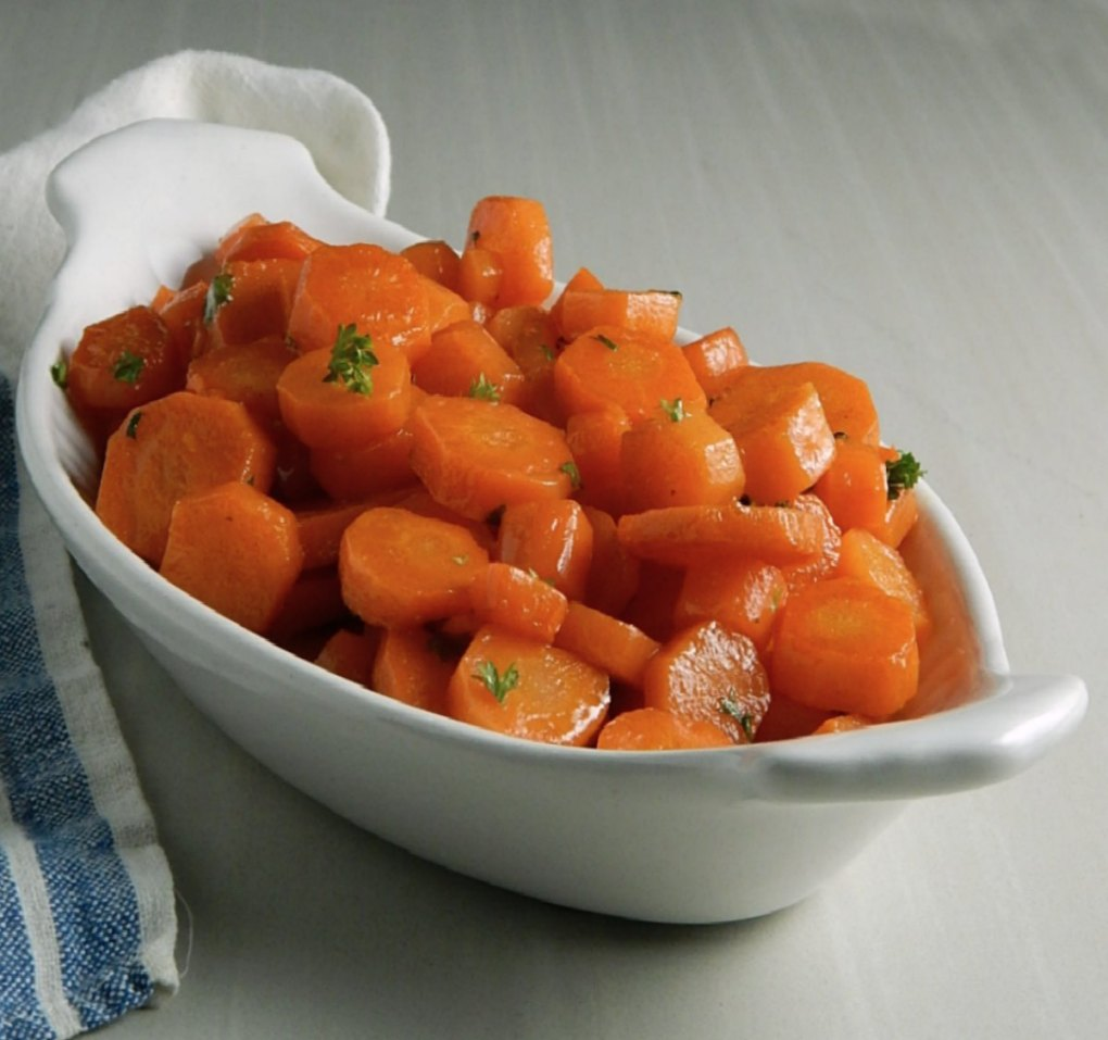 Glazed Carrots With Parsley Butter