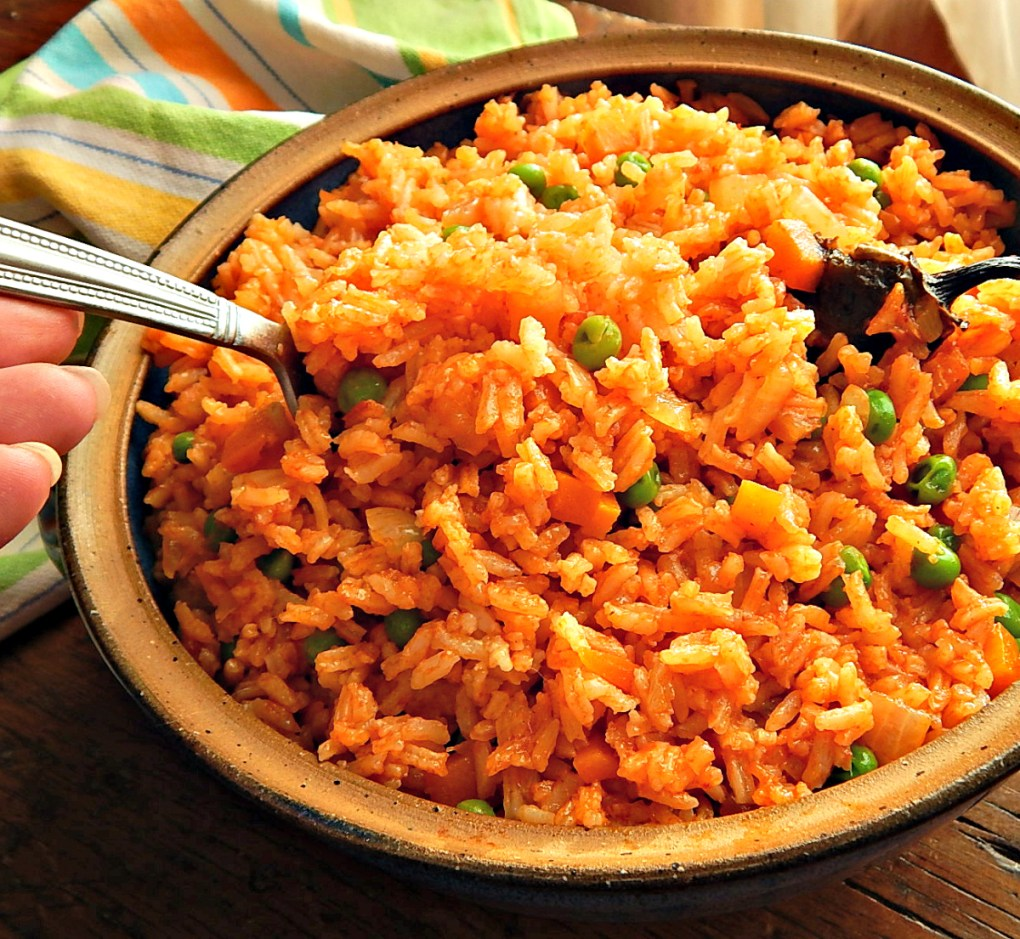 Restaurant Style Mexican Rice