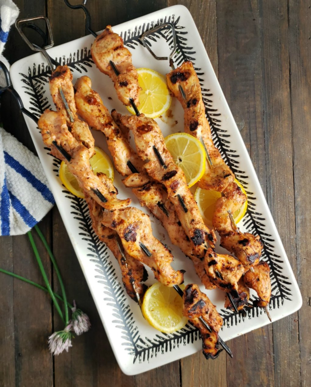 Yogurt Marinated Shish Kebabs