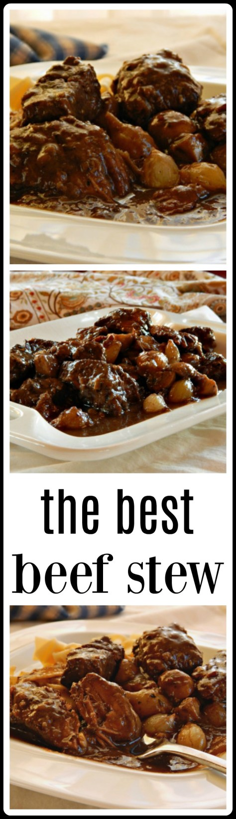 this really is the BEST stew - adapted from Cook's Illustrated, make it with wine or use substitutions