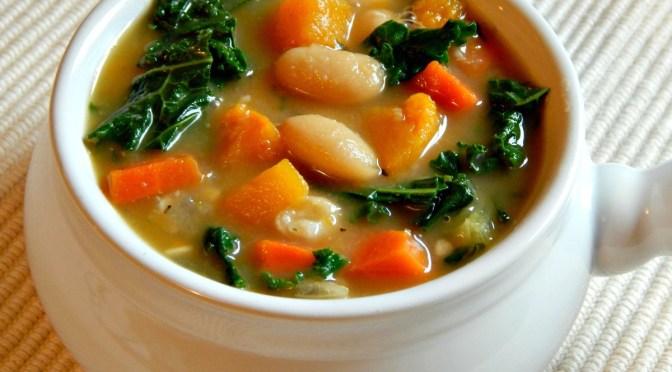 White Bean & Kale Soup