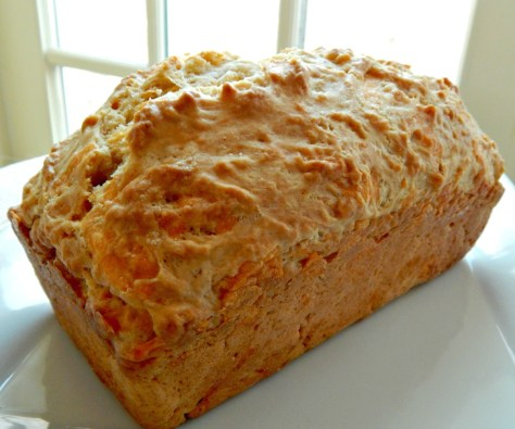 Beer Cheese Bread