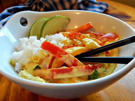 Thai Chicken Curry with Vegetables