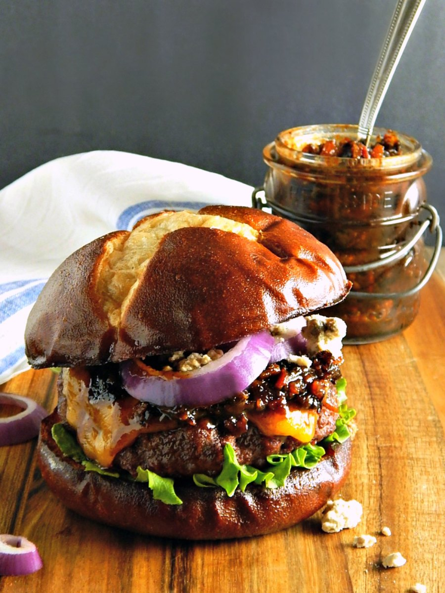 Da Bomb Oven Roasted Hamburgers