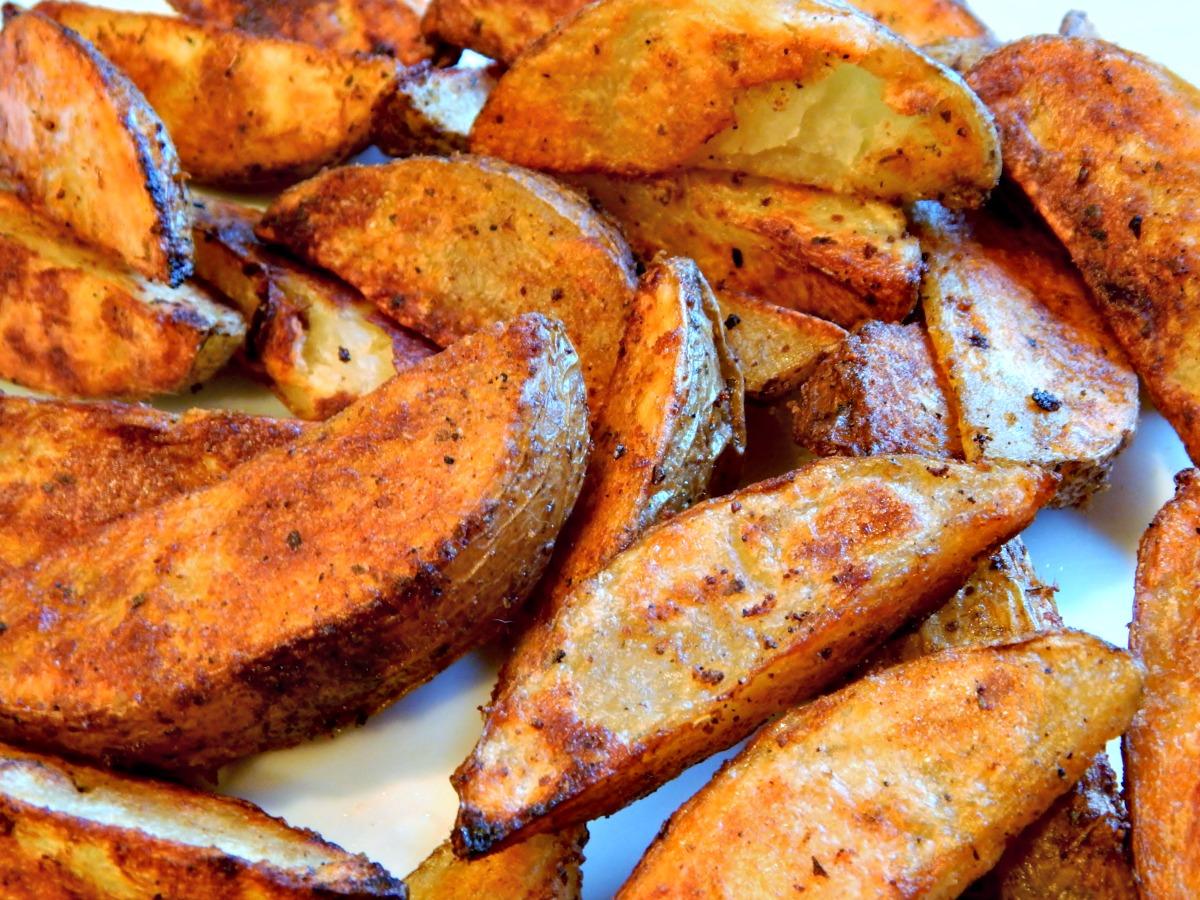 Bomb Baked Potato Wedges