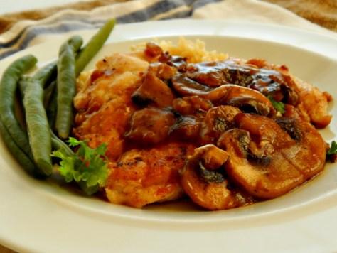 Classic Chicken Marsala