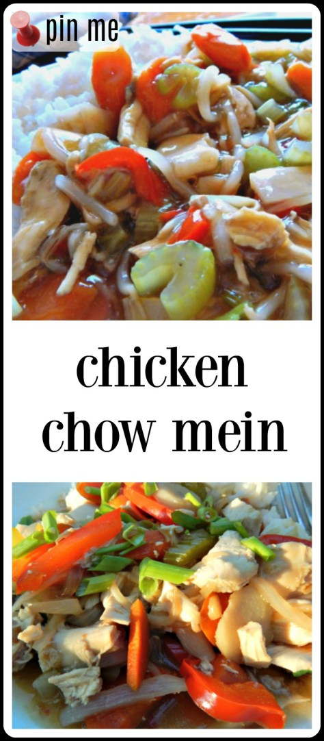 Chicken Chow Mein - so easy to make at home!