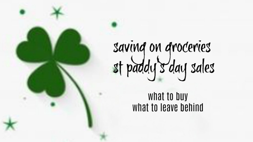 St. Patrick's Day Grocery Savings