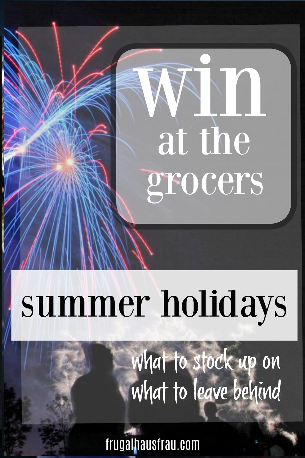 Summer Holiday Grocery Savings - Learn what to stock up on during Memorial Day, Father's Day, 4th of July & Labor Day. Win at the Grocers! #HolidayGrocerySales #SaveMoneyOnGroceries #HowToBuySmart #SaveMoneyOnGroceriesSummerHolidays #SaveMoneyGrocers