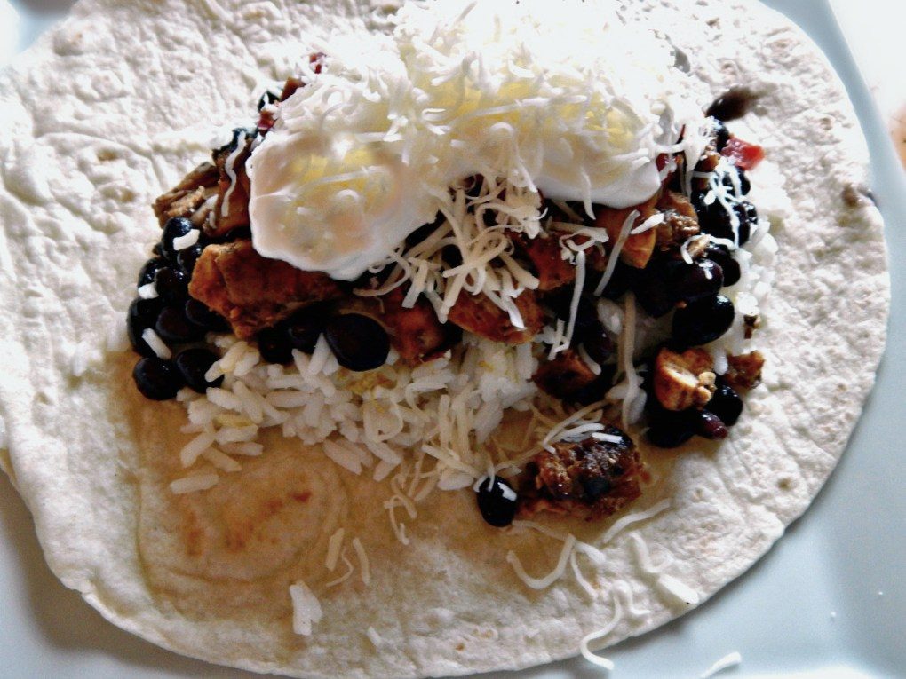Chipotle Chicken Burrito Copycat Recipe