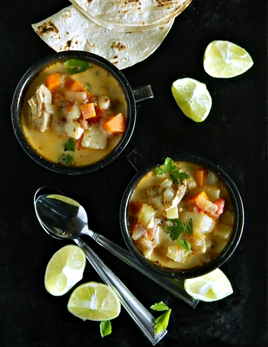 Chipotle Chicken Chowder Chupe de Pollo