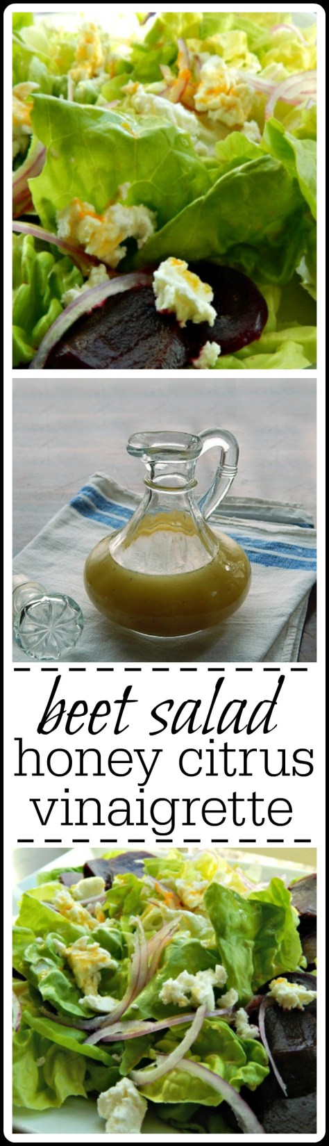The Vinaigrette is so good you'll want to drink it!!