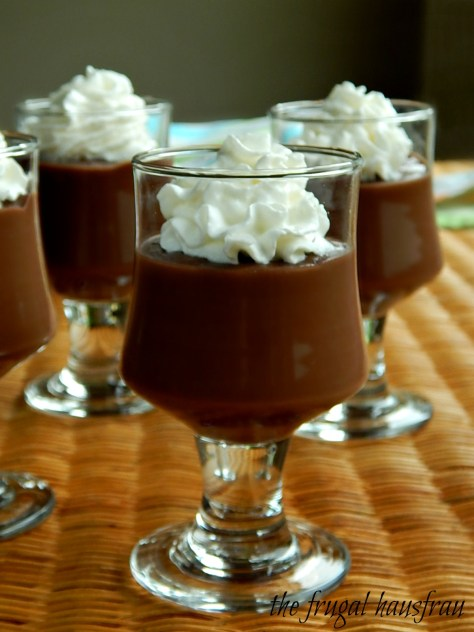 Best Home-made Chocolate Pudding