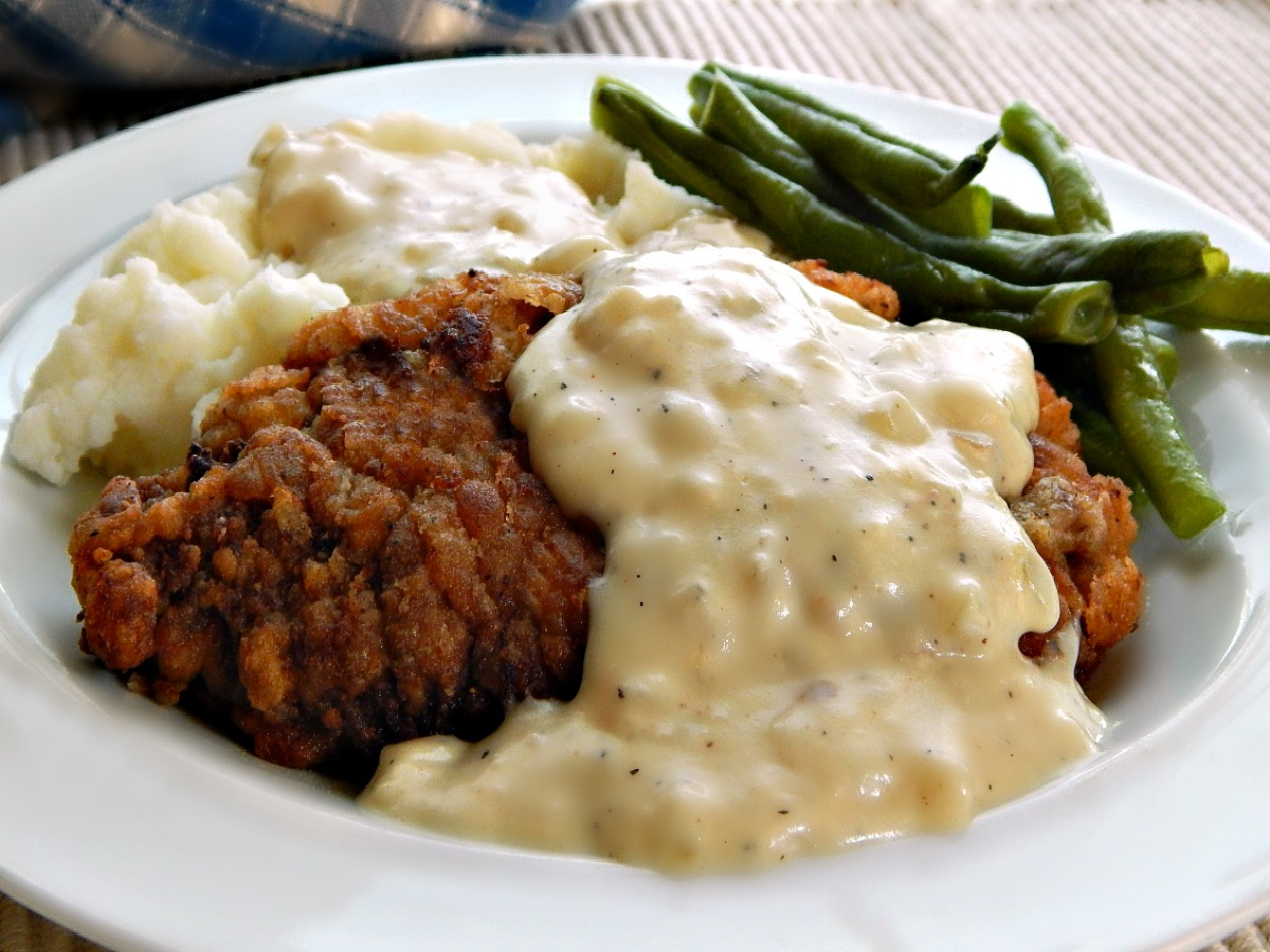 Chicken Fried Steak With Country Gravy Frugal Hausfrau