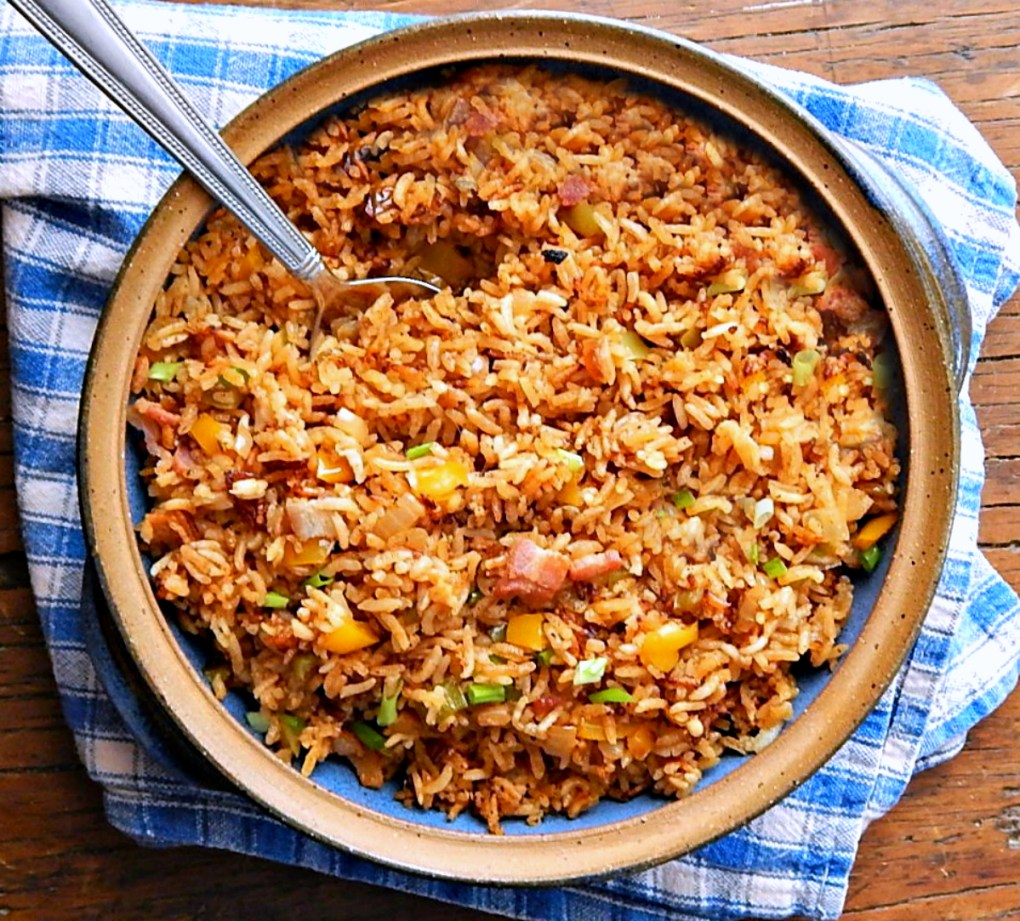 Down & Dirty Cajun Rice