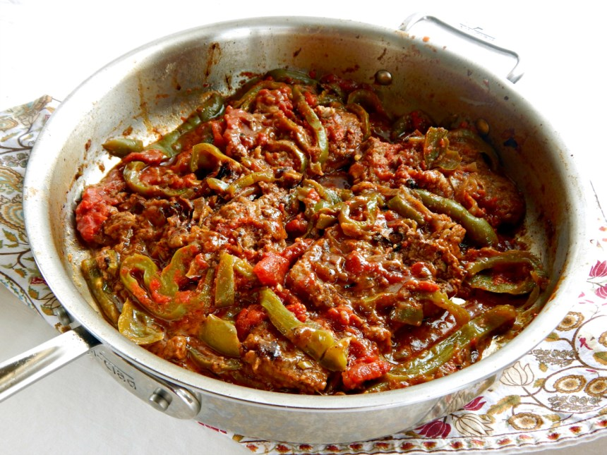 Old Fashioned Swiss Steak tomatoes green bell peppers