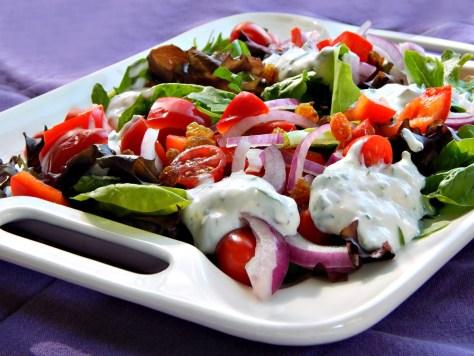 Grilled Cajun Chicken Salad