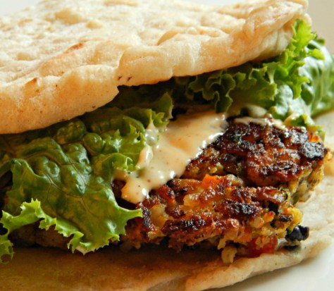 Sparrow Tavern Veggie Burger