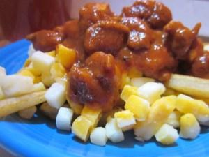 AJ's Chicken Chili Poutine