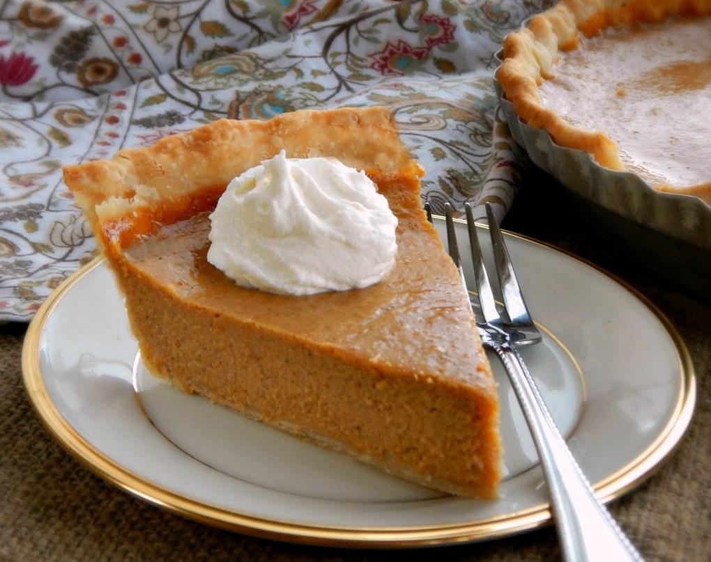 Pam Anderson's Silky Pumpkin Pie