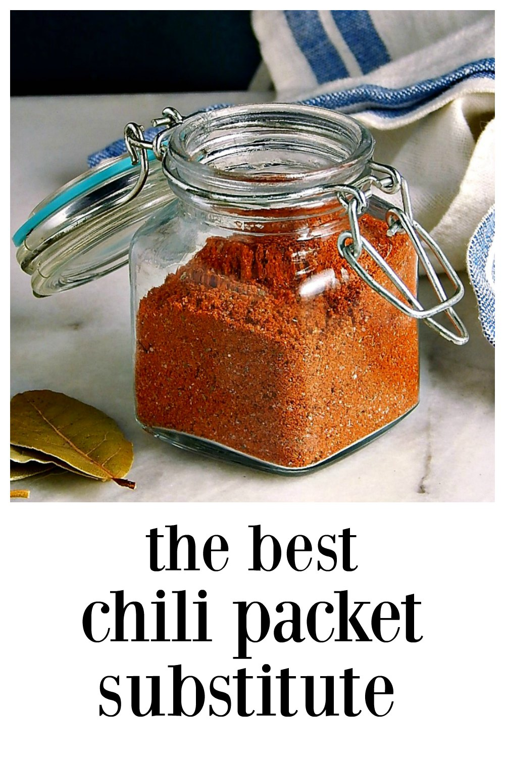 Up your Chili game with this customized Substitute for Chili Packet. This is outstanding and family-friendly, with options for more heat. #ChiliPacketSubstitute #HomemadeChiliSeasoning #SubstituteForChiliPacket