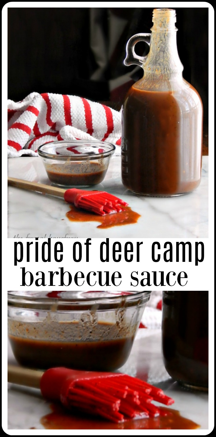 Pride of Deer Camp Barbecue sauce - I could DRINK the stuff!! #PrideofDeerCamp #PrideofDeerCampBarbecueSauce #JeffSmithBarbecueSauce #FrugalGourmetBarbecueSauce