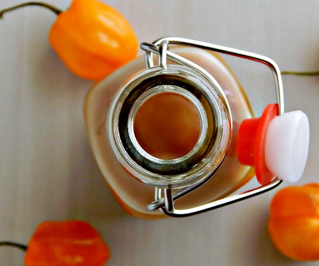 Sweet Pineapple Mango Habanero Sauce