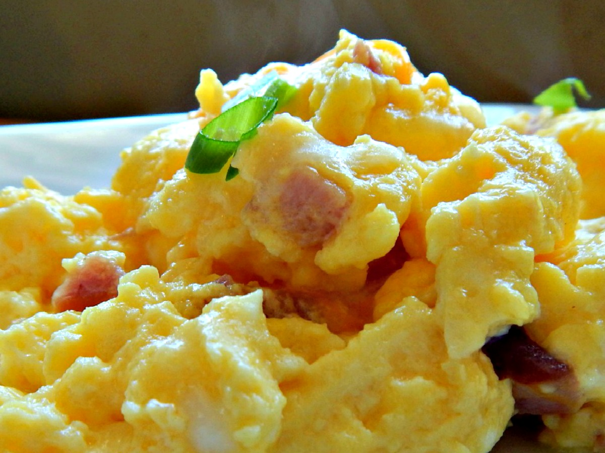 Oven Baked Eggs-Hotel Eggs