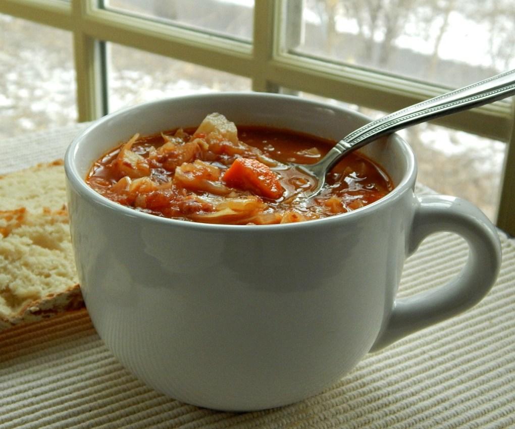 Connemara Corned Beef Cabbage Soup