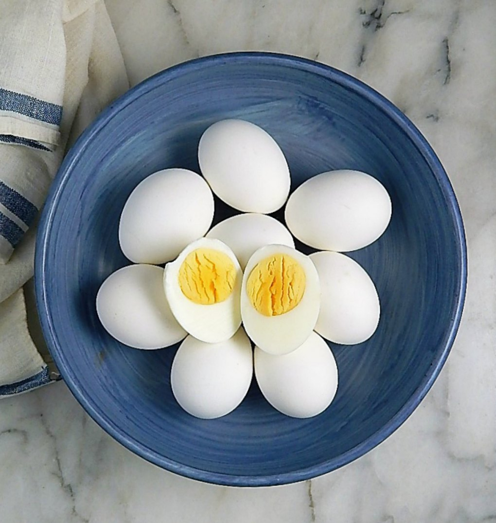 Eggs, Easy Peel Steamed Hard Boiled