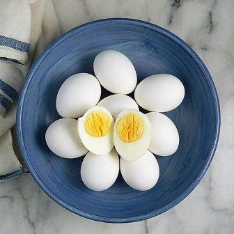 Eggs, Easy Peel Steamed Hard Boiled