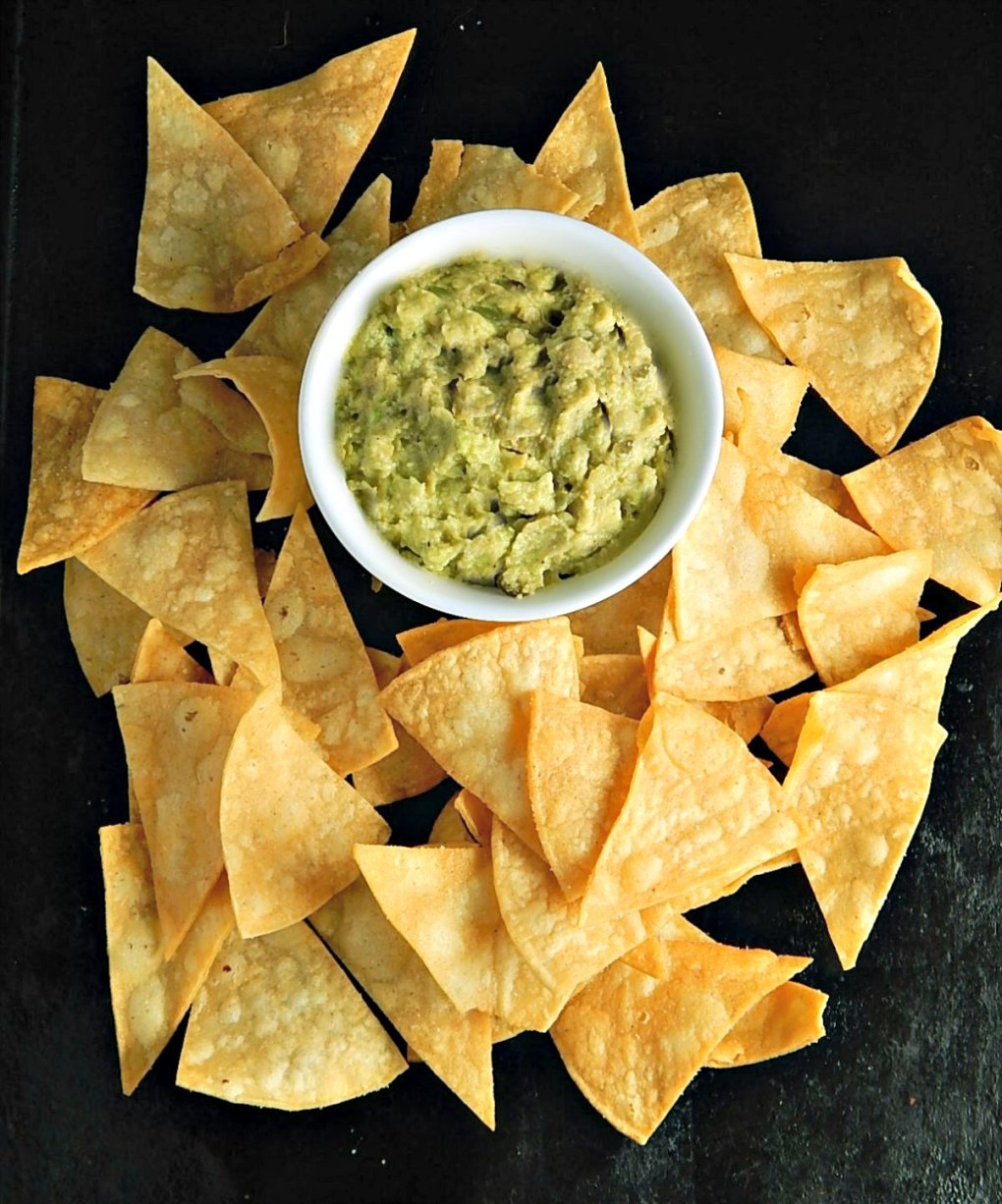 Restaurant Style Homemade Tortilla Chips