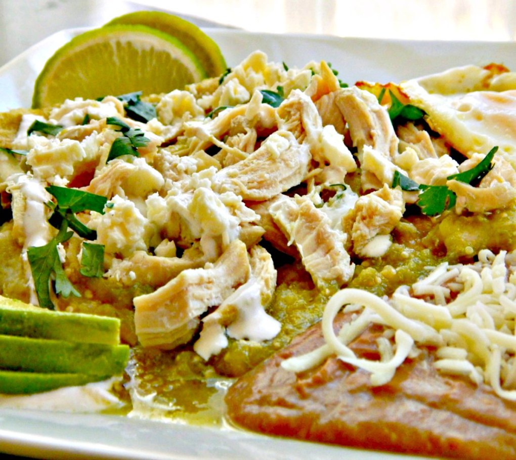 Chicken Chilaquiles Verde